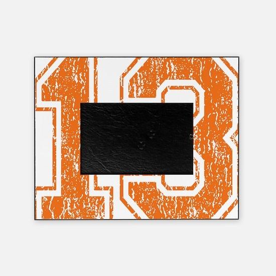Retro 13 Orange Picture Frame