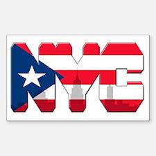 New York Puerto Rican Decal