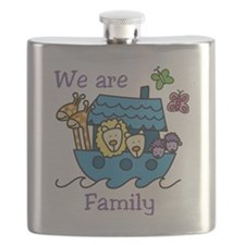 We Are Family Flask