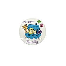 We Are Family Mini Button