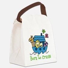 Born To Cruise Canvas Lunch Bag