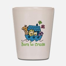 Born To Cruise Shot Glass