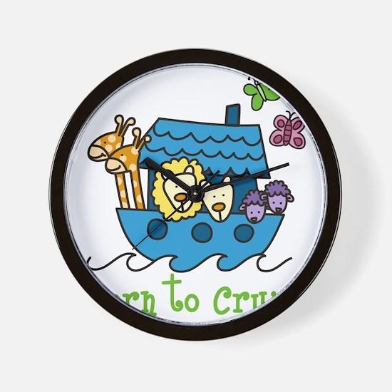 Born To Cruise Wall Clock