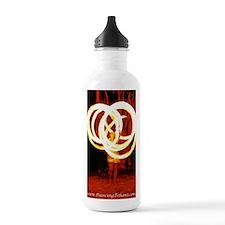 Tehani Fire Photo One Water Bottle