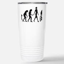 evolution female bicycl Travel Mug