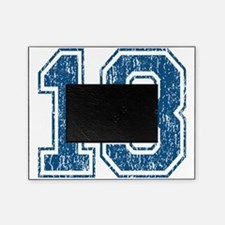 Retro 13 Blue Picture Frame