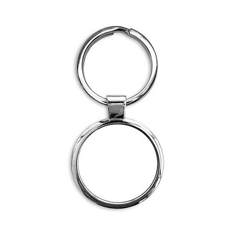 Retro 13 Round Keychain