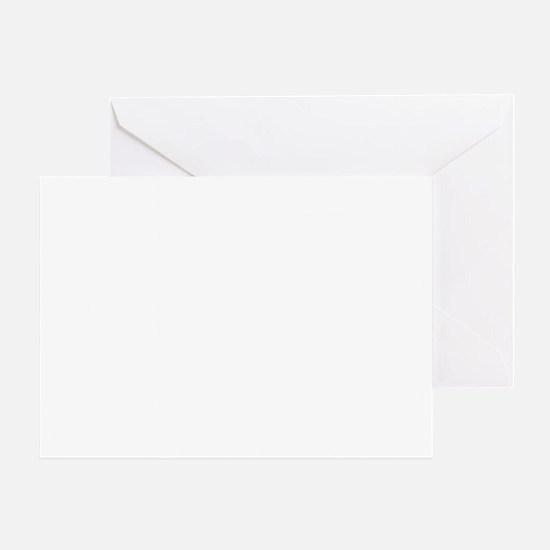 Retro 13 Greeting Card