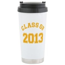 Class Of 2013 Yellow Travel Mug