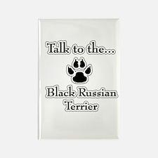 Russian Talk Rectangle Magnet