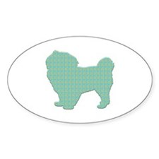 Paisley Tibbie Oval Decal