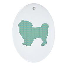 Paisley Tibbie Oval Ornament