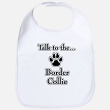 Border Collie Talk Bib