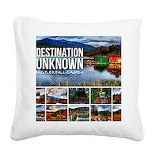 Whistler Cal Square Canvas Pillow