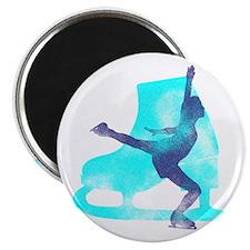 "Skating Boot and Skater 2.25"" Magnet (10 pack"