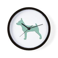 Paisley TFT Wall Clock