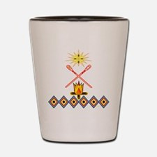 SOUTHEAST TRIBAL STICKBALL Shot Glass