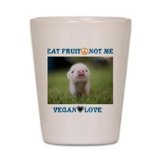 Vegan Love Shot Glass