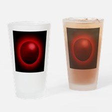 Black hole radiation, artwork Drinking Glass