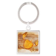 Cancer Square Keychain