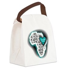 I will come to you Canvas Lunch Bag