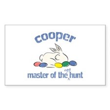 Easter Egg Hunt - Cooper Rectangle Decal