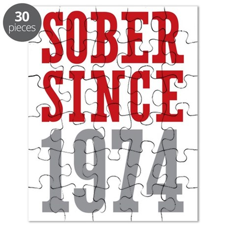 Sober Since 1974 Puzzle