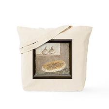 Bread and figs, Roman fresco Tote Bag