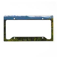 Yukon Pond License Plate Holder