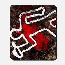 Alcohol related death, conceptual artwor Mousepad