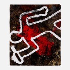 Alcohol related death, conceptual ar Throw Blanket