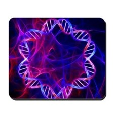 Bacterial DNA, artwork Mousepad