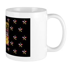 Quilting In Session Small Mug
