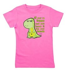 T-rex hands Girl's Tee