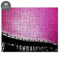 Roller Coaster in Pink Puzzle