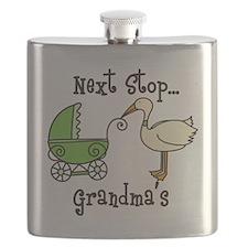 Next Stop Grandmas Flask