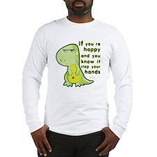 T-rex hands Long Sleeve T-Shirt