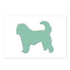 Paisley Otterhound Postcards (Package of 8)