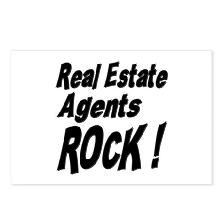 Real Estate Agents Rock ! Postcards (Package of 8)