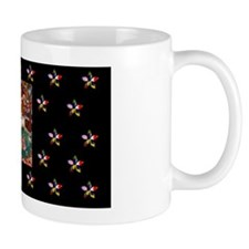 Quilting with Abe Small Mug