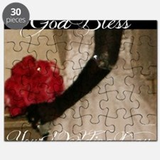 God Bless Your Wedding Day Puzzle