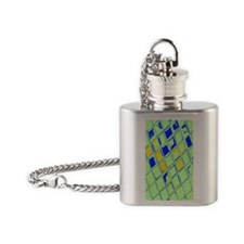 Tiles Flask Necklace