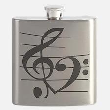 Music heart Flask