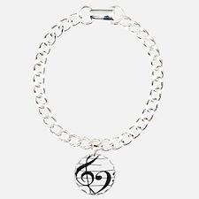 Music heart Bracelet