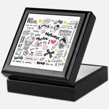Images and Words Keepsake Box