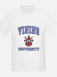 VINING University Kids T-Shirt