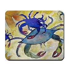 Sandy Crab Art Mousepad