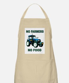 NO FARMERS FOOD Apron