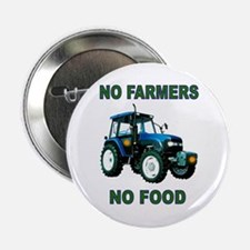 NO FARMERS FOOD 2.25&Quot; Button