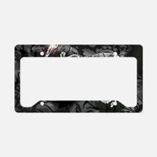 Dazzling Midnight Masquerade License Plate Holder
